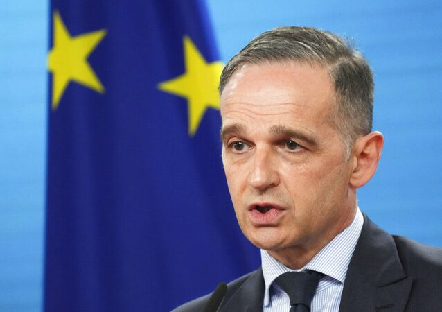 Ministro das Relações Exteriores da Alemanha, Heiko Maas, em Berlim, Alemanha, terça-feira, 18 de maio de 2021