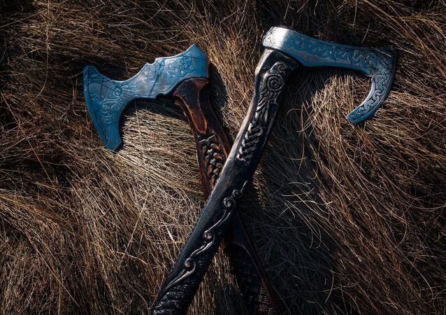 Artefatos vikings (imagem referencial)