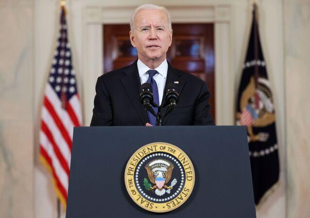 Presidente dos EUA, Joe Biden, faz discurso na Casa Branca para comentar cessar-fogo entre Israel e Hamas
