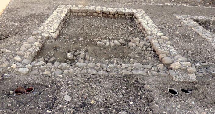 Complexo do período romano desenterrado em Bâtie-Montsaléon, França
