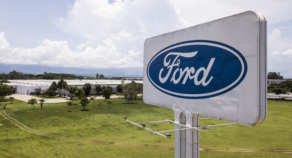 Fábrica da Ford, em Taubaté, no interior de São Paulo, no dia 12 de janeiro de 2021; montadora encerrou suas operações no Brasil