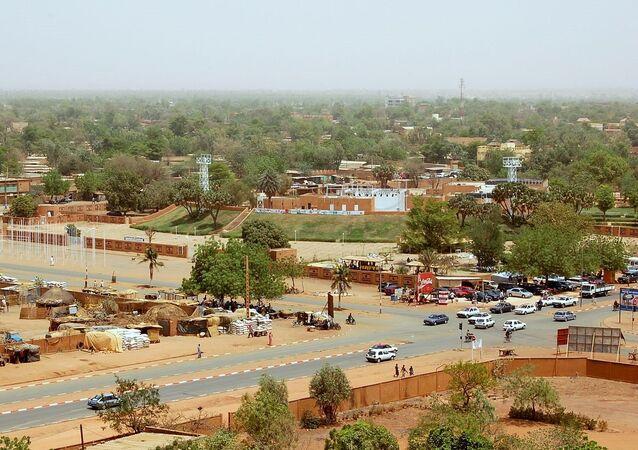 Niamey, capital do Níger (arquivo)