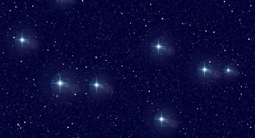 Constelação no Universo (imagem referencial)