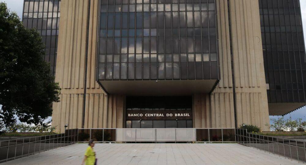 Edifício do Banco Central, em Brasília, no dia 13 de abril de 2021