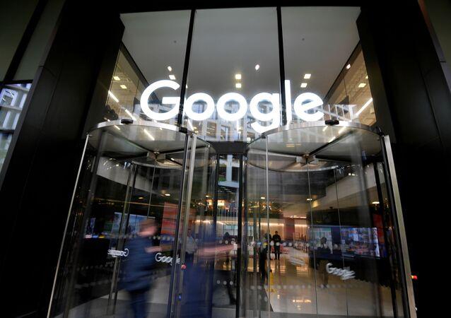 Nome do Google na oficina em Londres