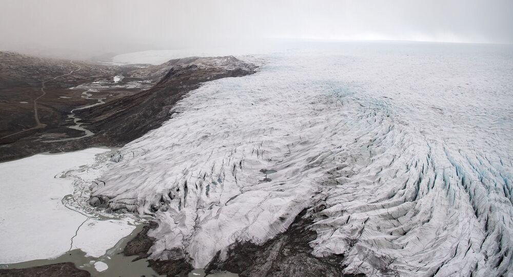 Geleira da Groenlândia, 20 de maio de 2021
