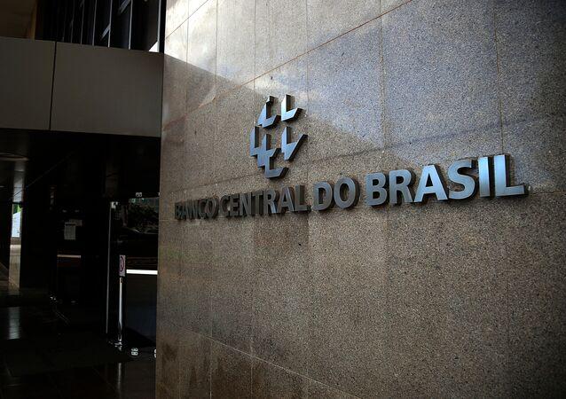 Em Brasília, uma imagem da fachada do Banco Central em 18 de janeiro de 2021