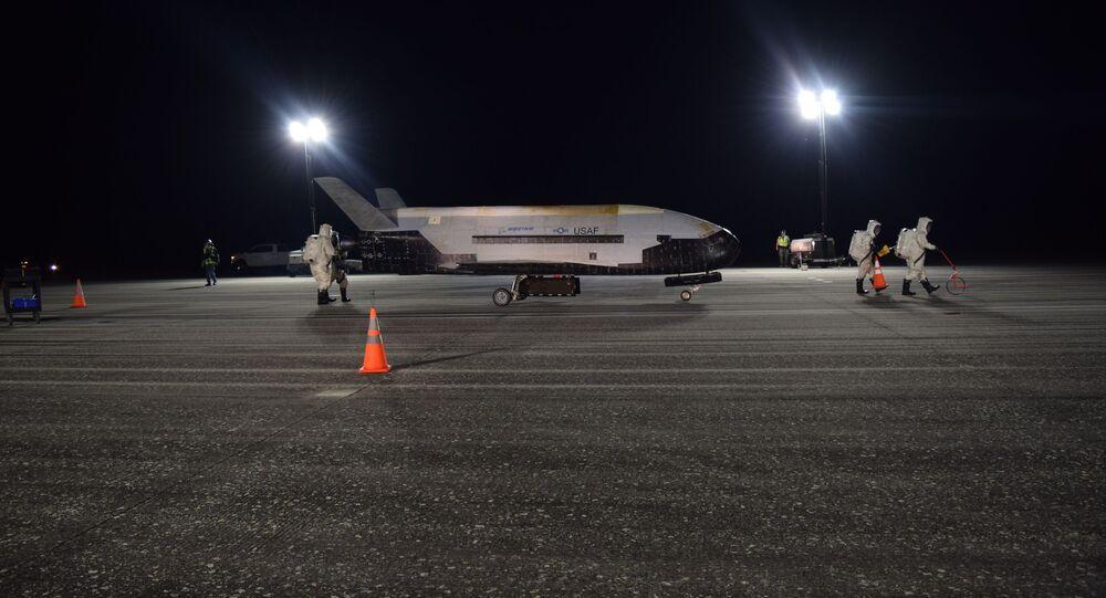 Veículo de prova orbital X-37B