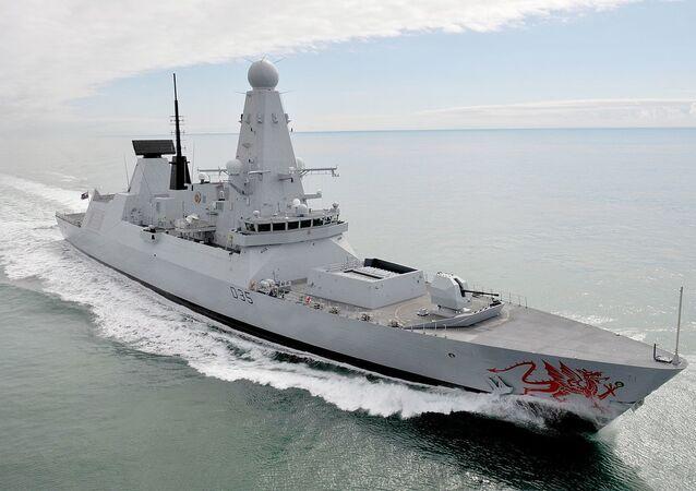 Destróier D35 Dragon da Marinha Real do Reino Unido