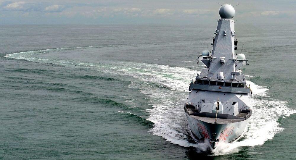 Destróier HMS Dragon da Marinha do Reino Unido