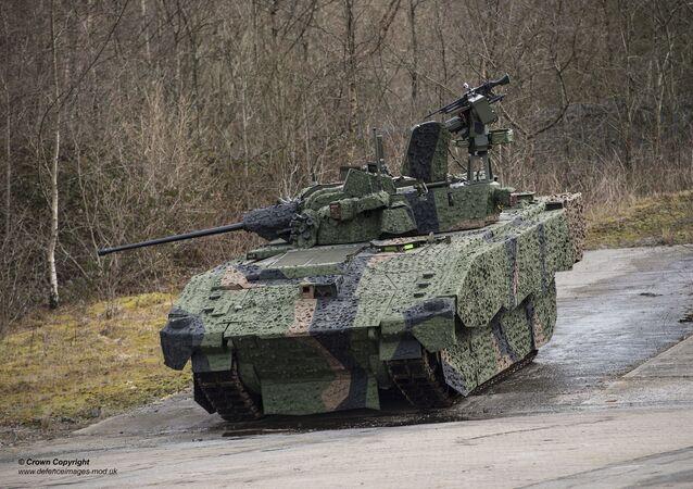 AJAX, o futuro veículo blindado de combate para o Exército britânico