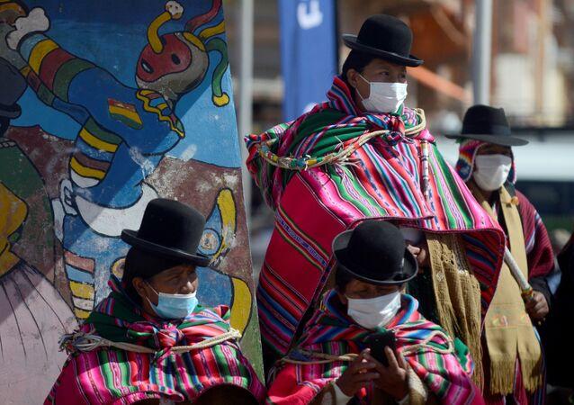 Mulheres bolivianas, 21 de maio de 2021