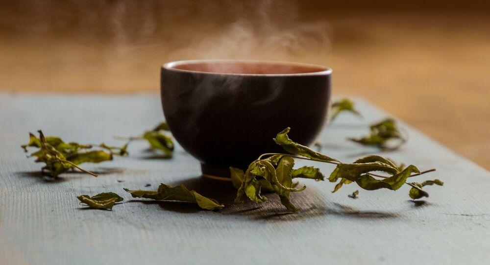 Xícara de chá verde (imagem referencial)