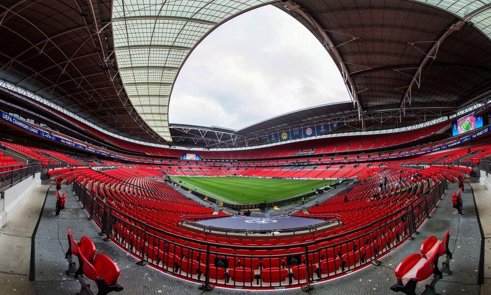Estádio de Wembley em Londres, Reino Unido