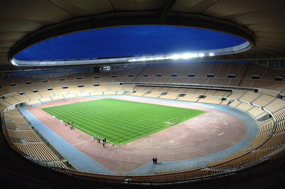 Estádio Olímpico La Cartuja em Sevilha, Espanha
