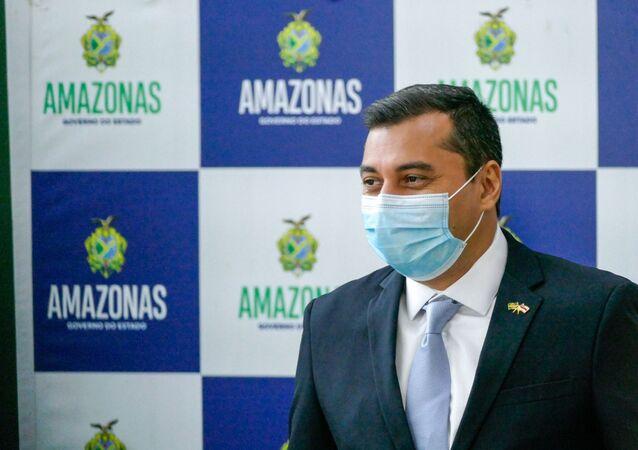 Governador do Amazonas, Wilson Lima, no Amazonas, em 24 de setembro de 2020