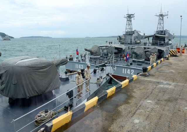 Base Naval Ream no Camboja