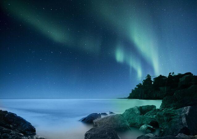 Aurora boreal (imagem referencial)