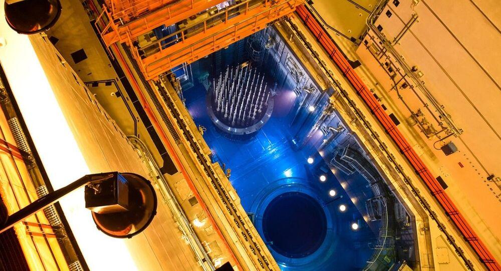 Reator da usina de Taishan, na China