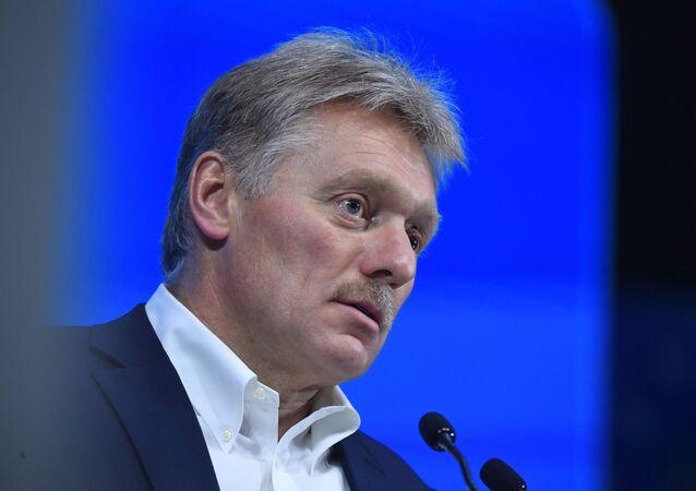 Porta-voz presidencial russo Dmitry Peskov