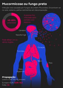 Mucormicose ou 'fungo preto': que doença é essa e quem corre mais risco?