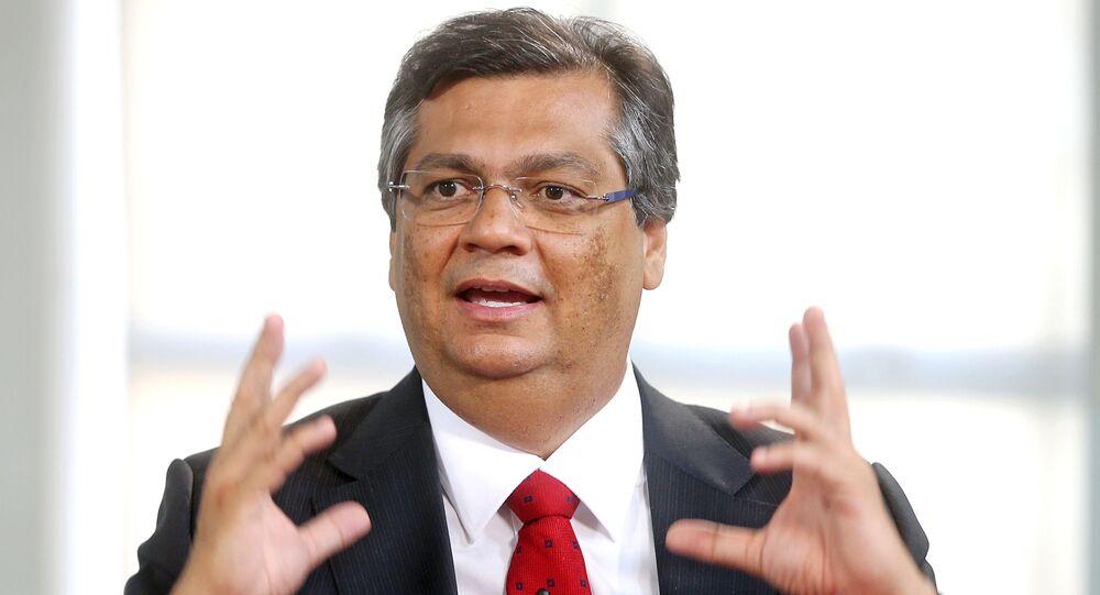 O governador do Maranhão, Flávio Dino. Foto de arquivo