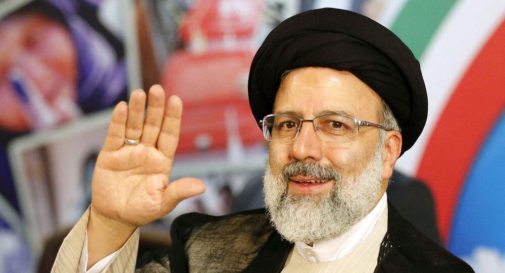 Chefe do Judiciário da República Islâmica, Ebrahim Raisi foi eleito presidente do Irão. Foto de arquivo