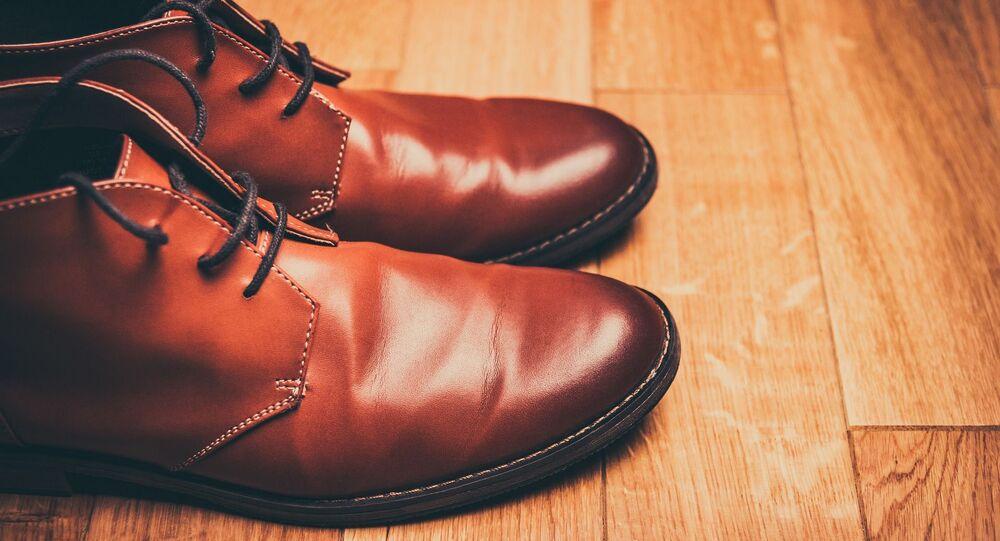 Sapatos de couro (imagem ilustrativa)
