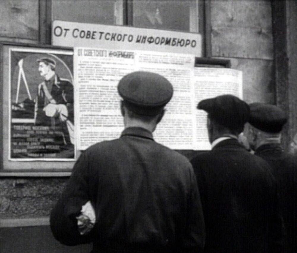 Central de informações soviética, criada em 24 de junho de 1941