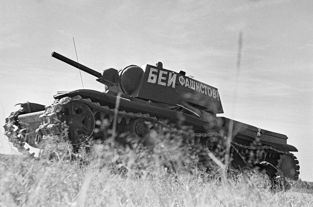 Regimento de tanques da Academia Militar J.V. Stalin de Mecanização e Motorização do Exército Vermelho, junho de 1941