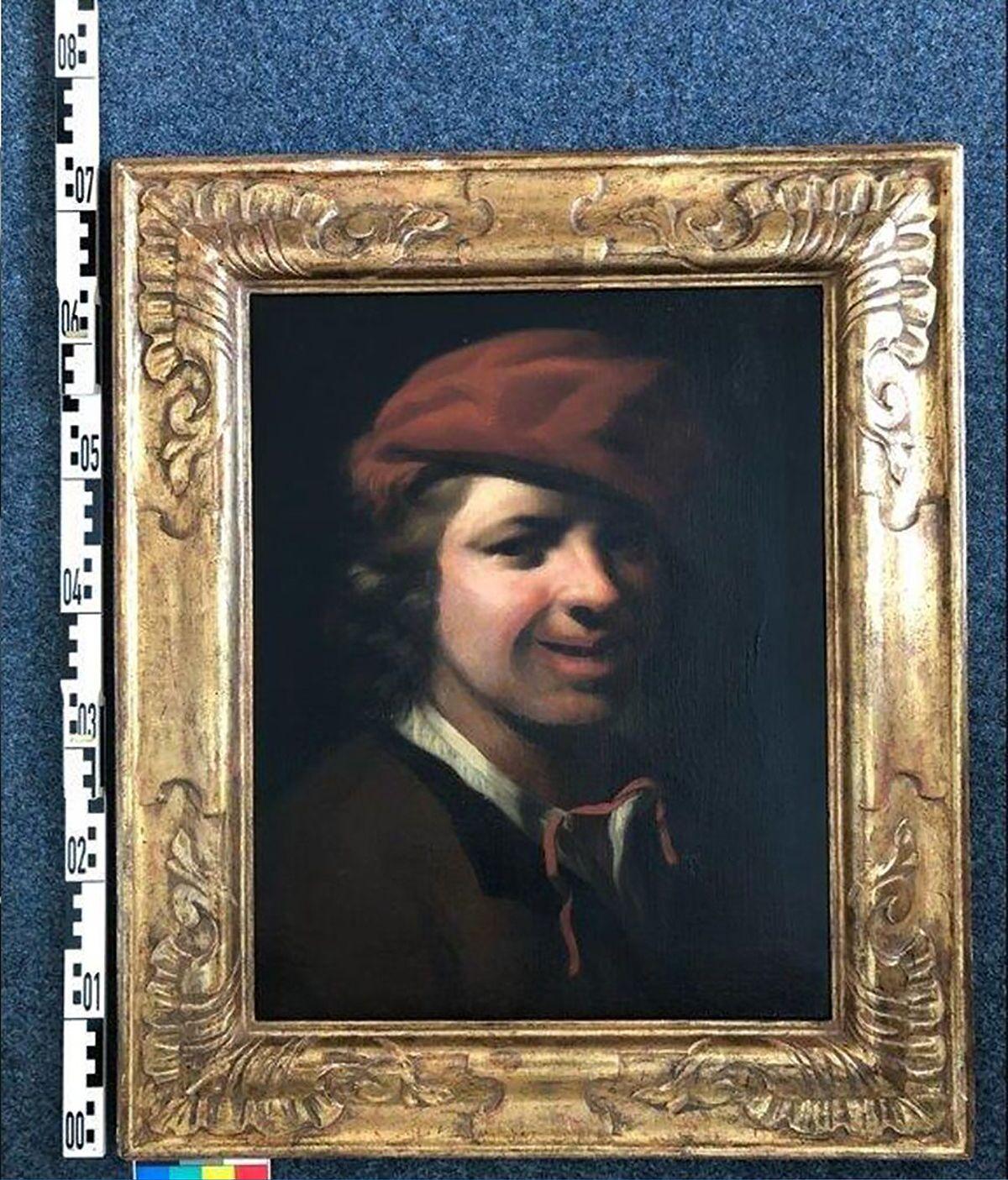 Quadro Retrato de menino de Samuel van Hoogstraten encontrado em lixeira na Alemanha