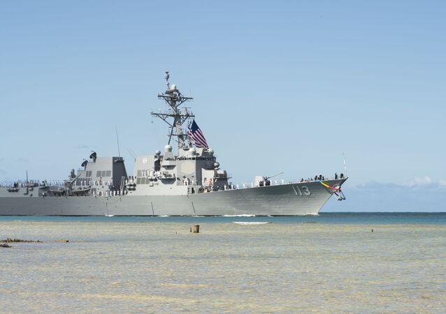Destróier  de mísseis guiados da Marinha dos EUA, USS John Finn