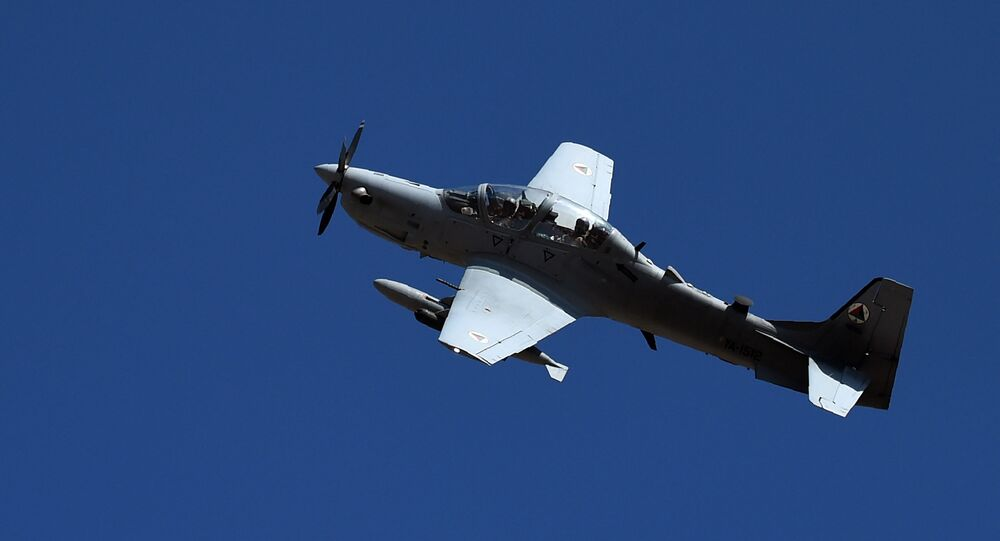 Embraer A-29 Super Tucano da Força Aérea do Afeganistão