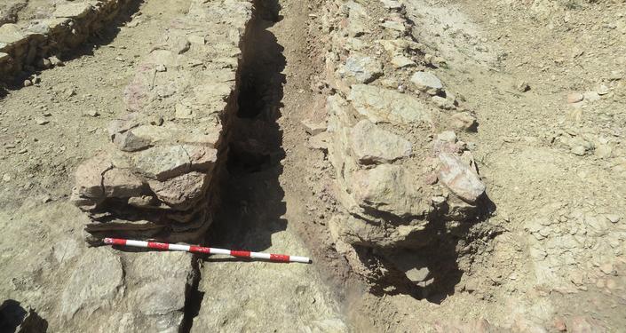 Escavações arqueológicas nos Pirineus catalães (Espanha)