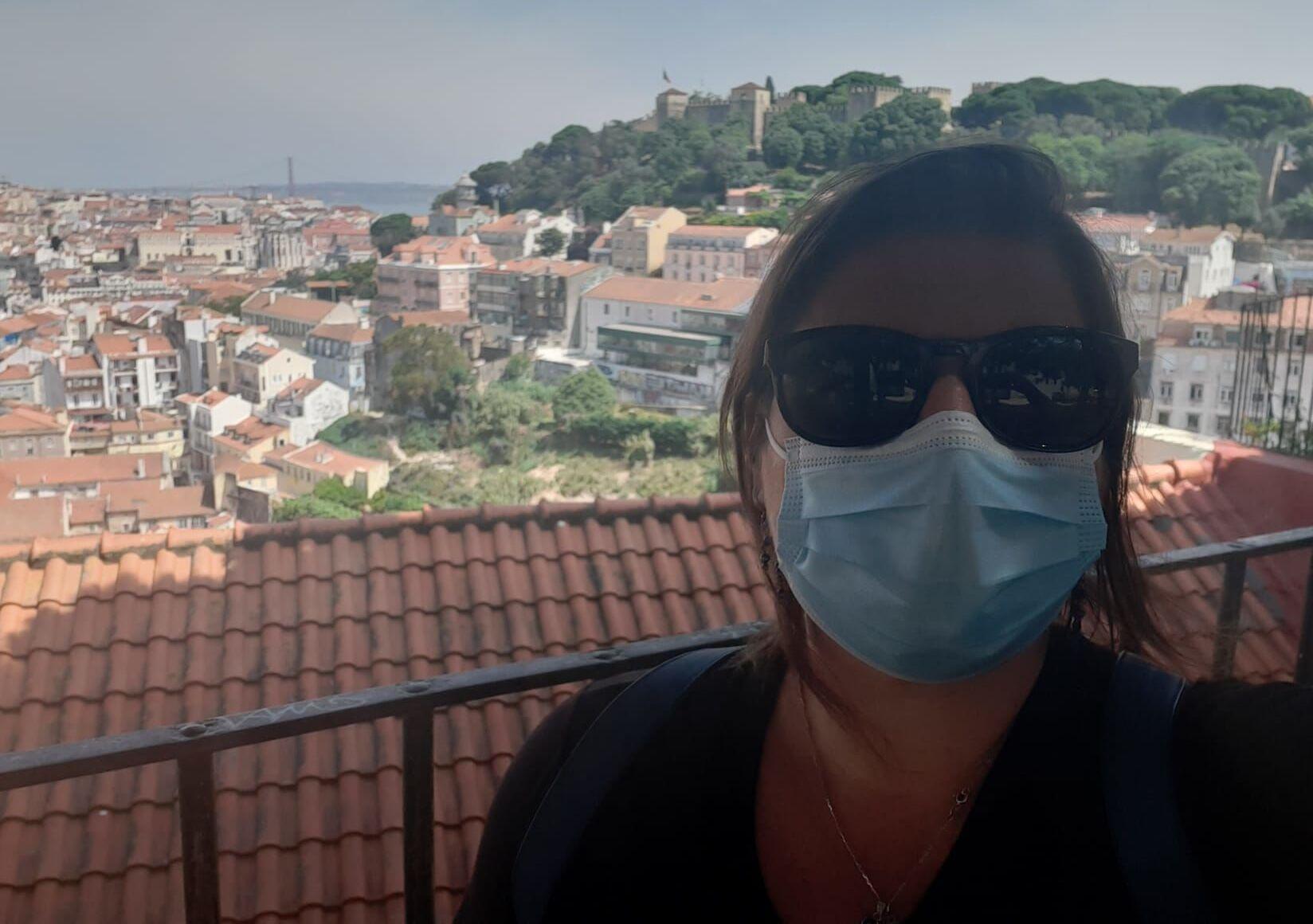 A carioca Karina Lerner mora Lisboa