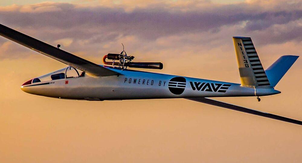 Fuselagem da empresa Wave Engine Corporation