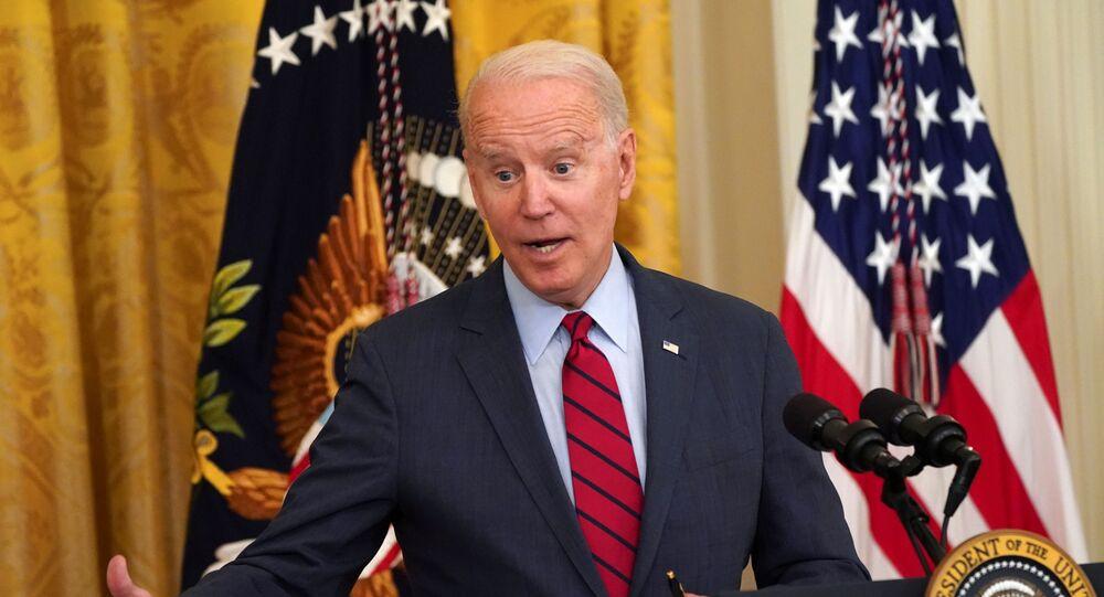Presidente Joe Biden faz comentários sobre o projeto de lei da infraestrutura, Casa Branca, EUA, 24 de junho de 2021