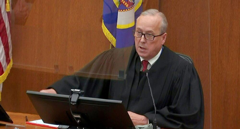 Audiência de sentença de condenação de Derek Chauvin, ex-policial de Minneapolis, por homicídio em maio de 2020 do afro-americano George Floyd em Minneapolis, Minnesota, EUA, 25 de junho de 2021