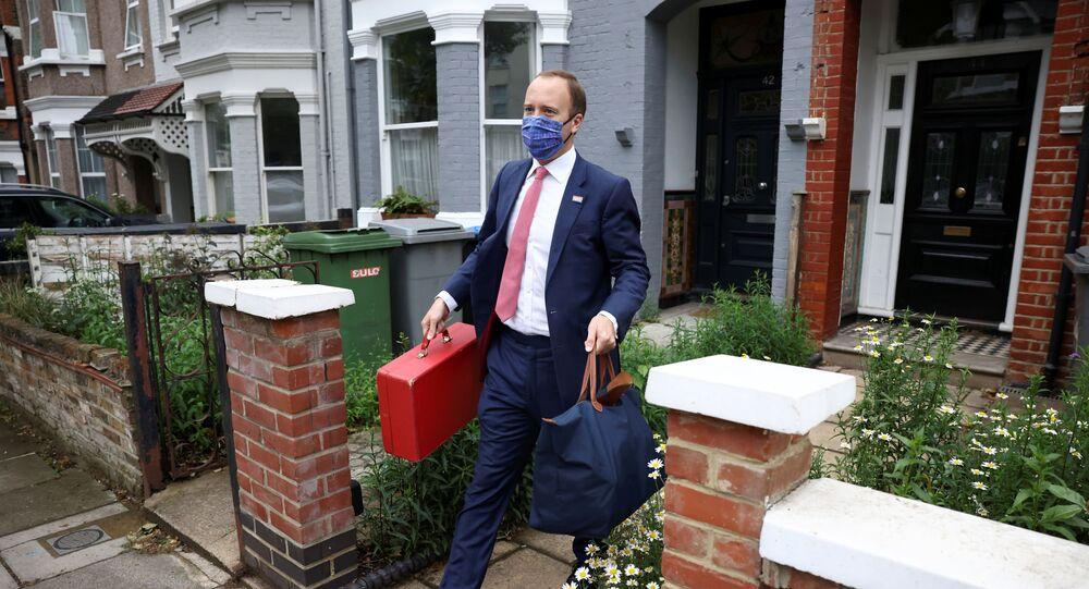 Matt Hancock, secretário de Saúde do Reino Unido, em Londres, Reino Unido, 17 de junho de 2021