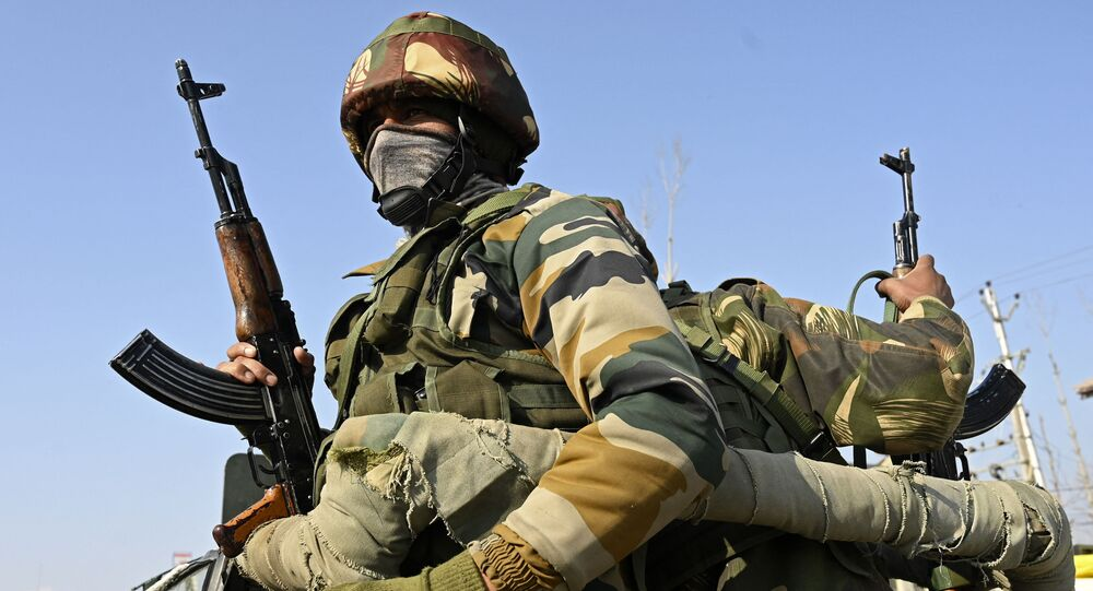 Soldados do Exército da Índia