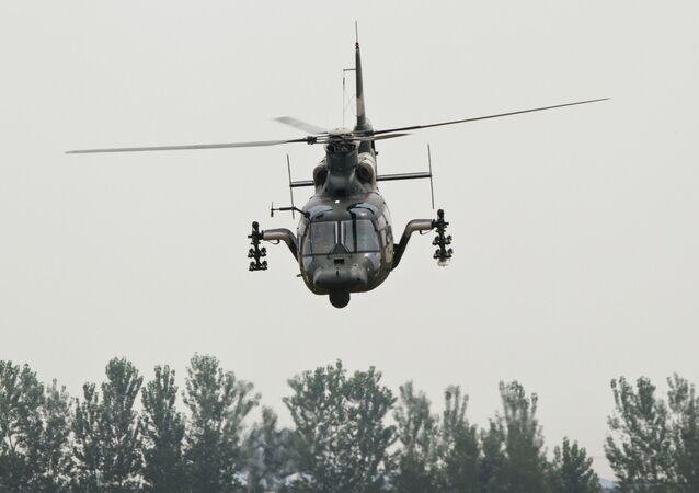 Helicóptero de ataque chinês Z-9WZ
