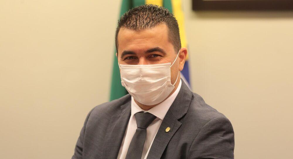 Deputado federal Luis Miranda (DEM-DF) na Câmara dos Deputados, em Brasília (DF). Foto de arquivo