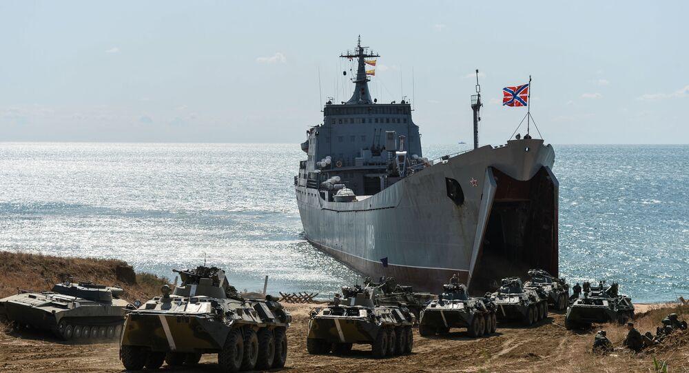 Navio de desembarque russo, Orsk
