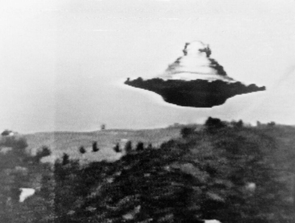 Objeto voador não identificado registrado nas montanhas suíças em 1990