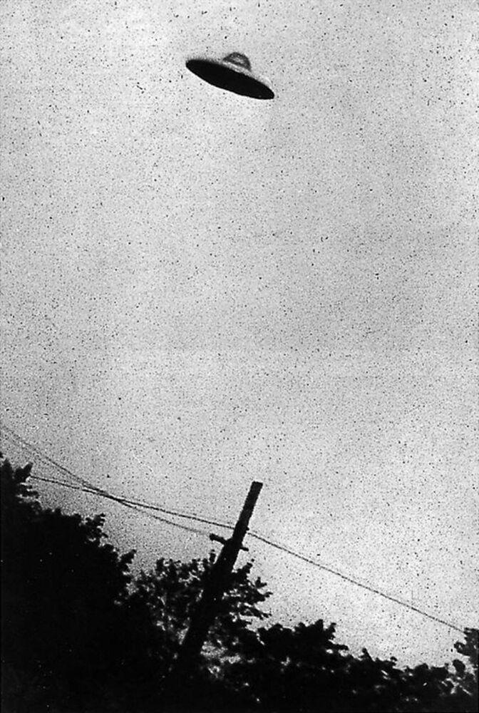 Um suposto OVNI observado em Nova Jersey em 1952