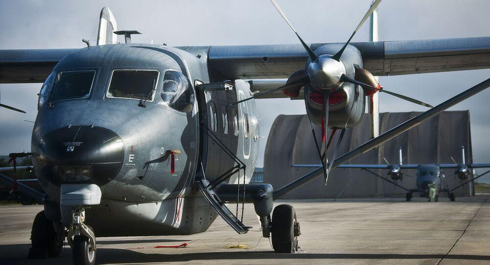 Avião de transporte militar leve C-145 Skytruck (imagem ilustrativa)