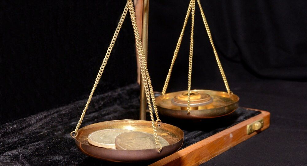 Balança antiga (imagem ilustrativa)
