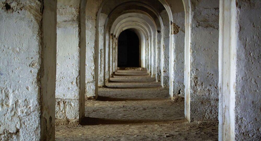Galeria de arcos na Turquia