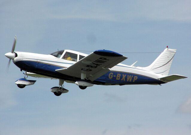 Aeronave particular modelo Cherokee Six