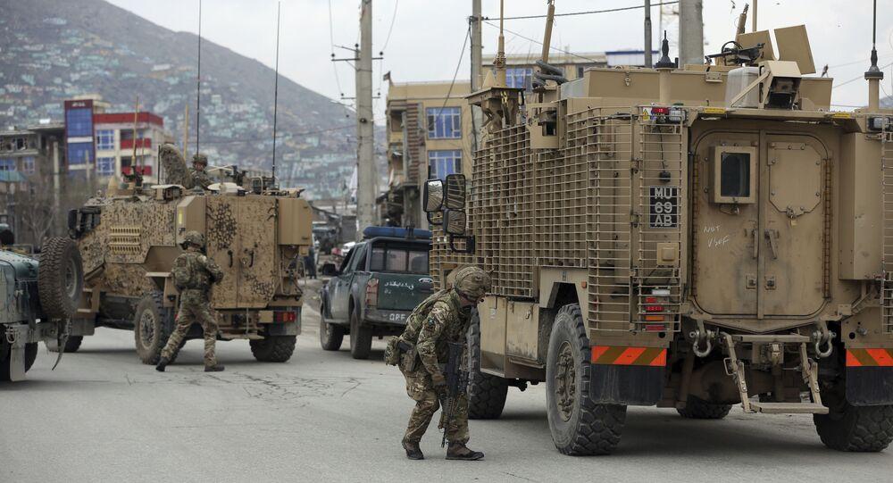 Soldados britânicos no Afeganistão